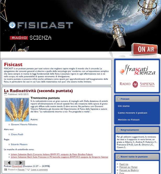 Datazione feed RSS