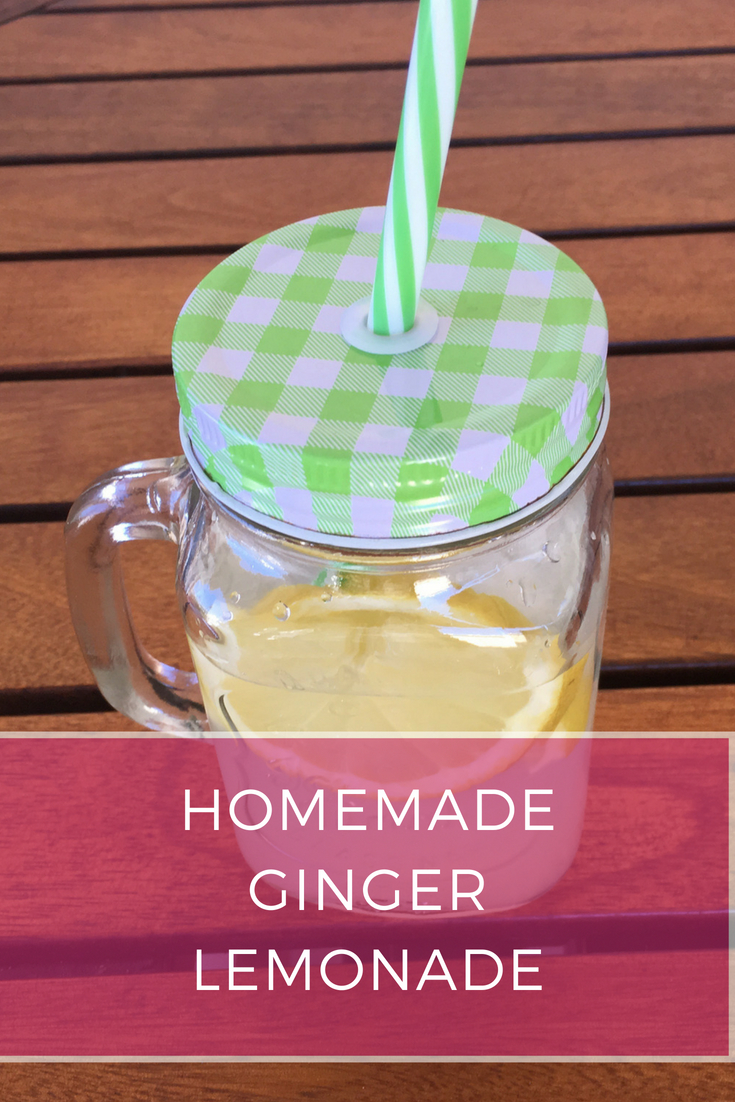 Homemade Ginger Lemonade Recipe: A classic summer drink with a twist - Ioanna's Notebook