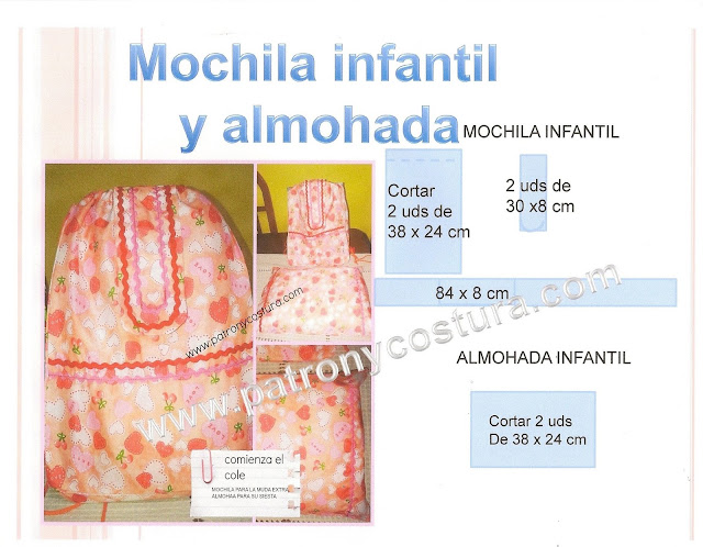 http://www.patronycostura.com/2015/09/mochila-infantil-y-almohada-diytema-121.html