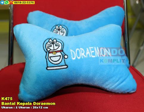 Bantal Kepala Doraemon