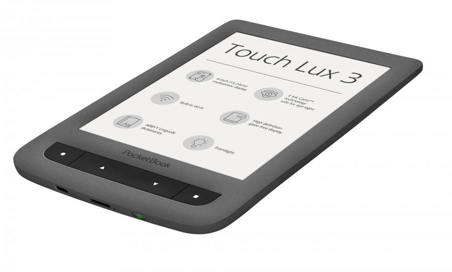 PocketBook Touch Lux 3 z ekranem E Ink Carta