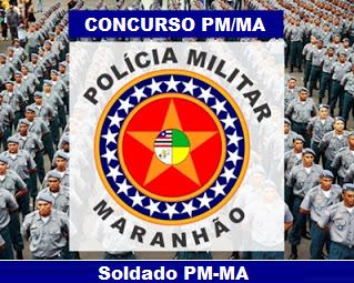 Apostila PM do Maranhão 2016 Soldado Combatente e Soldado Bombeiro Militar, Concurso Polícia Militar do Maranhão (PM-MA).