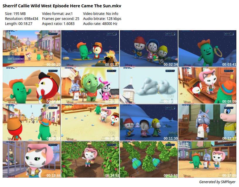 download animasi sherrif callie wild west episode here