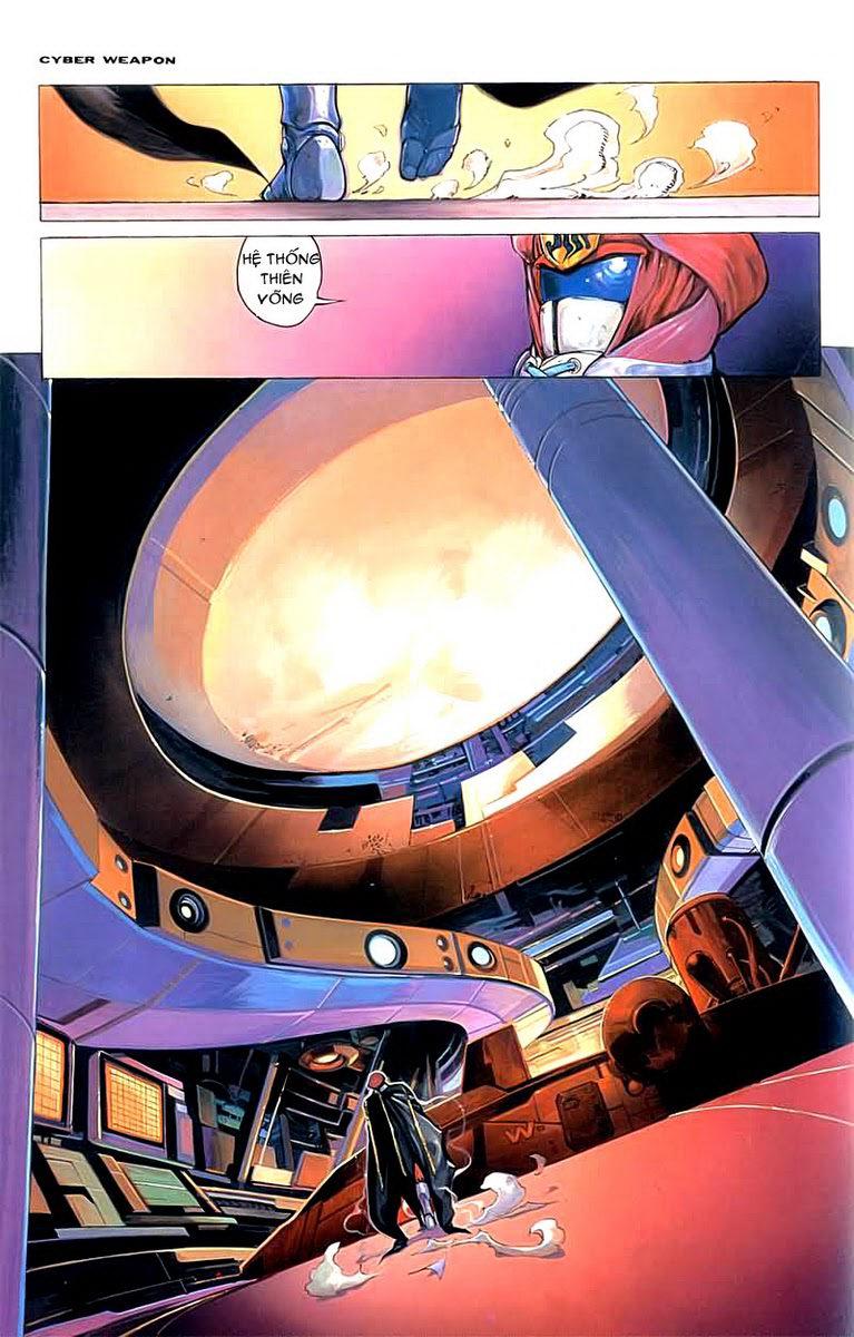Cyber Weapon Z - Siêu Thần Z chap 2 - Trang 33