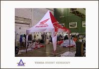 tempat, pembuat, penjual, produksi tenda kerucut honda