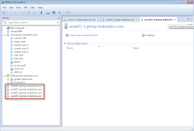 How cool is that!? Using VMware Workstation to manage your