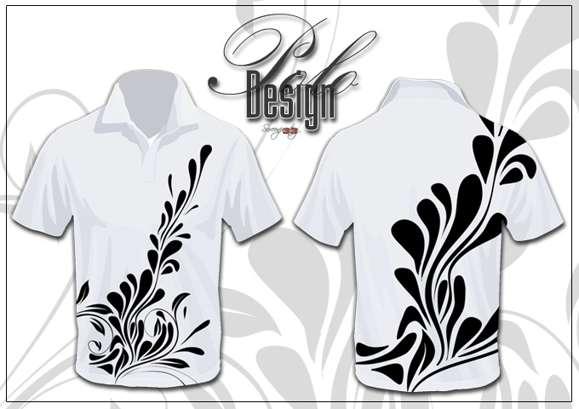 22 Contoh Gambar Desain Baju Kaos - Seni Rupa