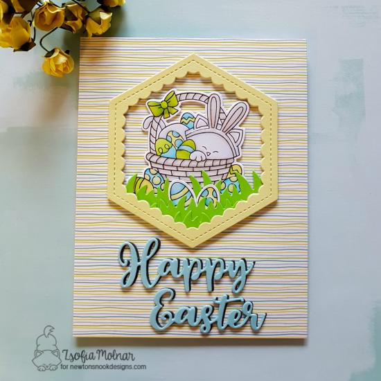 Happy Easter by Zsofia features Newton's Easter Basket by Newton's Nook Designs; #newtonsnook
