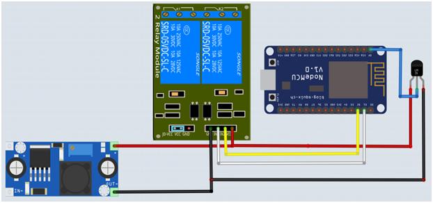 Tutorial Menyalakan dan Mematikan Lampu dan monitoring suhu Via Internet Menggunakan Node MCU + Basic4Android