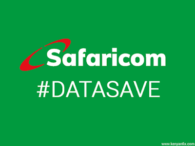 safaricom data save