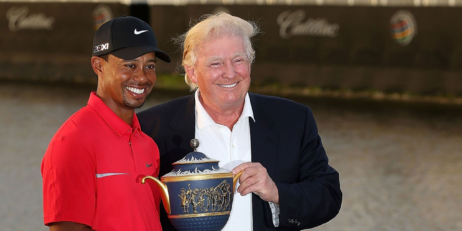 TIGER WOODS, DONALD TRUMP 6