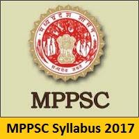 MPPSC Syllabus 2017