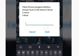 Kode paket internet gratis Telkomsel