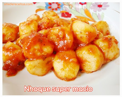 Nhoque super macio