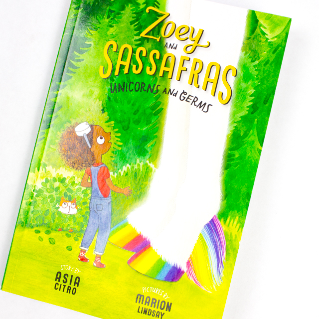 Make Mini Science Journals from a sheet of paper- Fun STEAM kids activity inspired by Zoey and Sassafras book