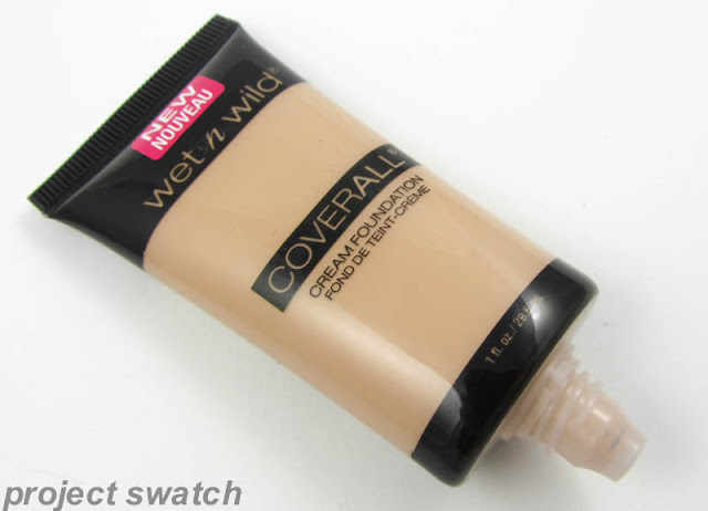 Wet n Wild Cover All Cream Foundation Review & Swatches