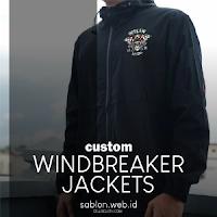 Windbreaker Jaket untuk mengantisipasi Angin Dingin dan Hujan Ringan