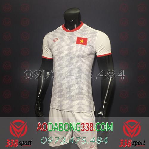 Áo Đội Tuyển Việt Nam Trắng Sân Khách 2019