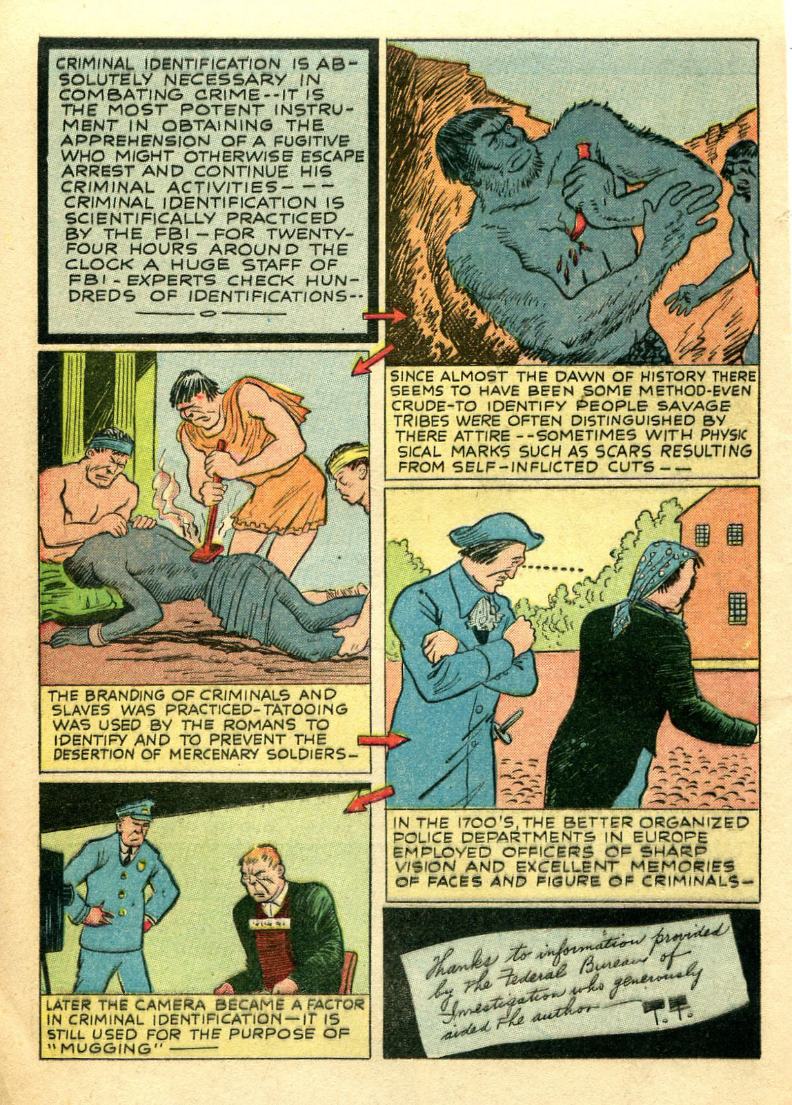 Read online Shadow Comics comic -  Issue #44 - 21