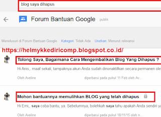 Blog ZOmbie dari forum