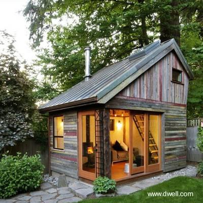 Casa barata de madera