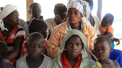 Crianças correm o risco de morrer de fome no Congo
