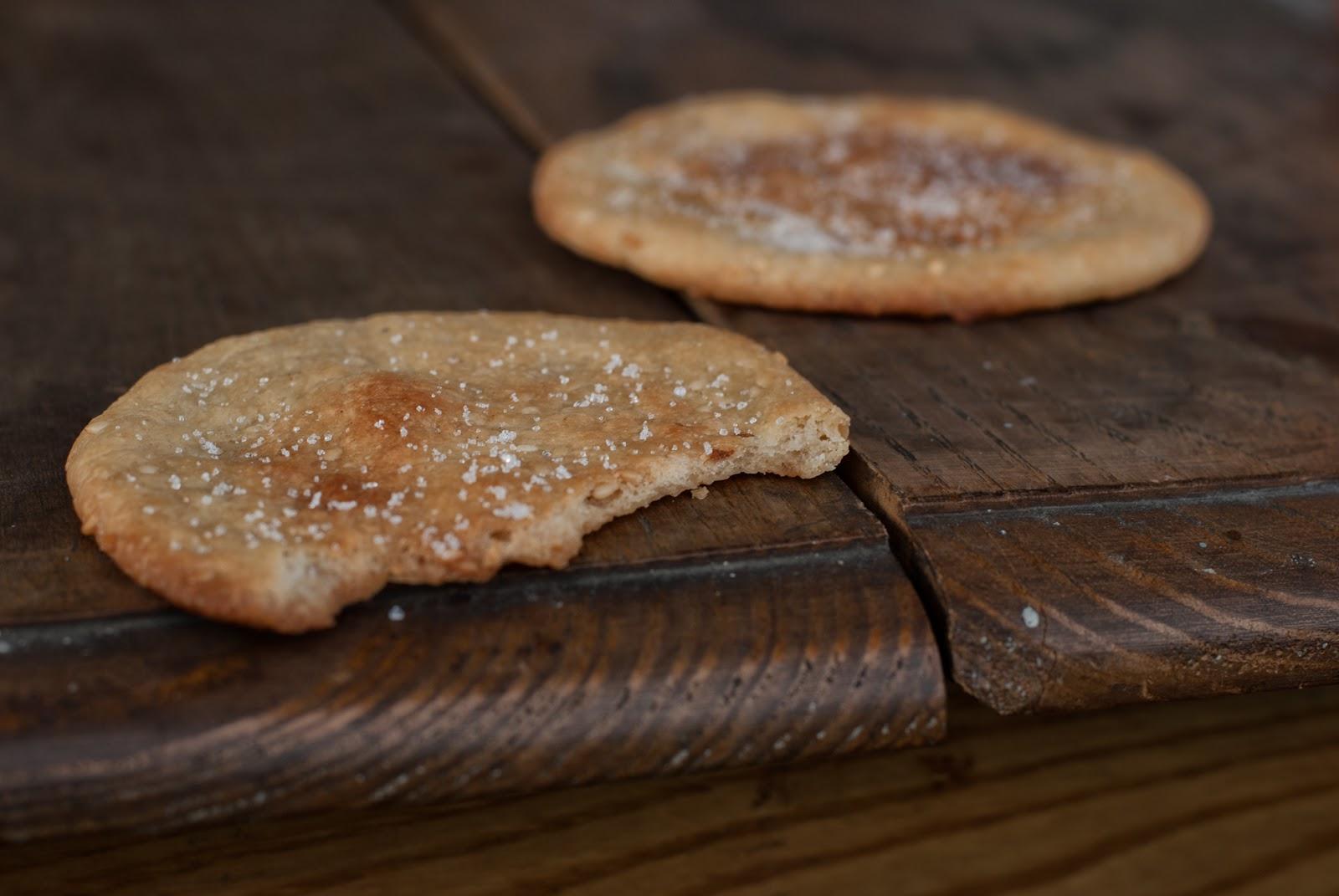 Krucho-drożdżowe ciastka na oliwie z anyżem