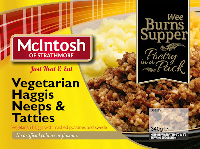 McIntosh Vegetarian Haggis, Neeps and Tatties Packet