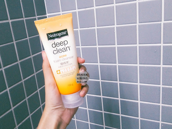REVIEW: Neutrogena Deep Clean Acne Foam Cleanser (The Best Facial Foam I've Ever Had)