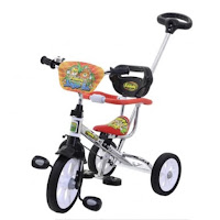 family nikel krom bmx baby tricycle