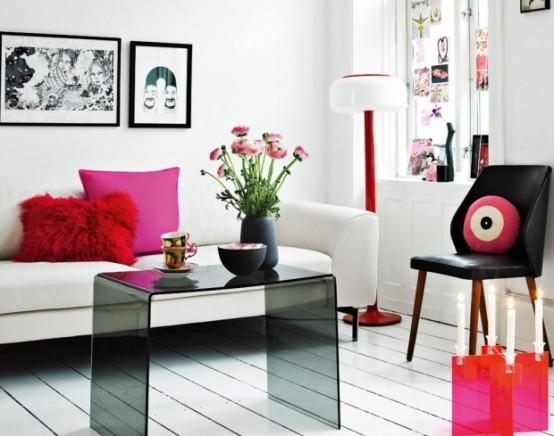 Modern Furniture: 2013 Stylish And Feminine Living Rooms