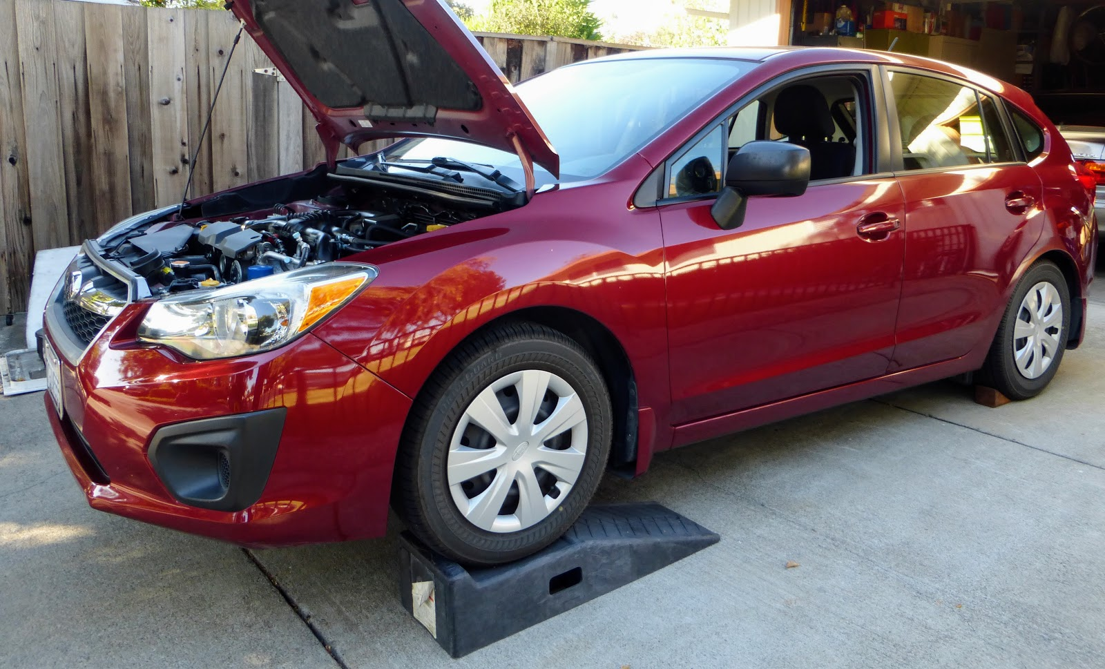 Paolo Baltar: 2012 Subaru Impreza Engine Oil Change
