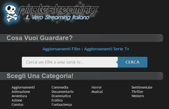 sito internet di film in streaming e streaming film e serie tv