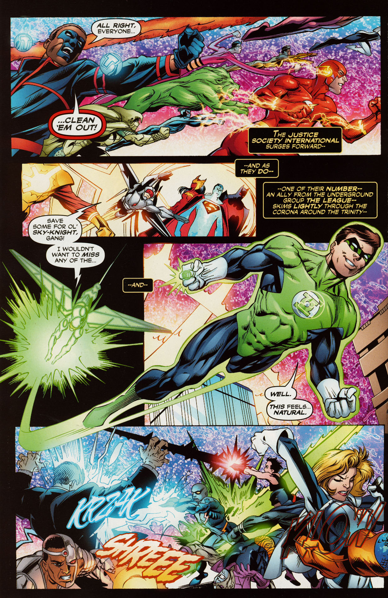 Read online Trinity (2008) comic -  Issue #41 - 7