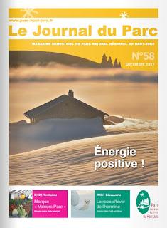 Journal du Parc n°58