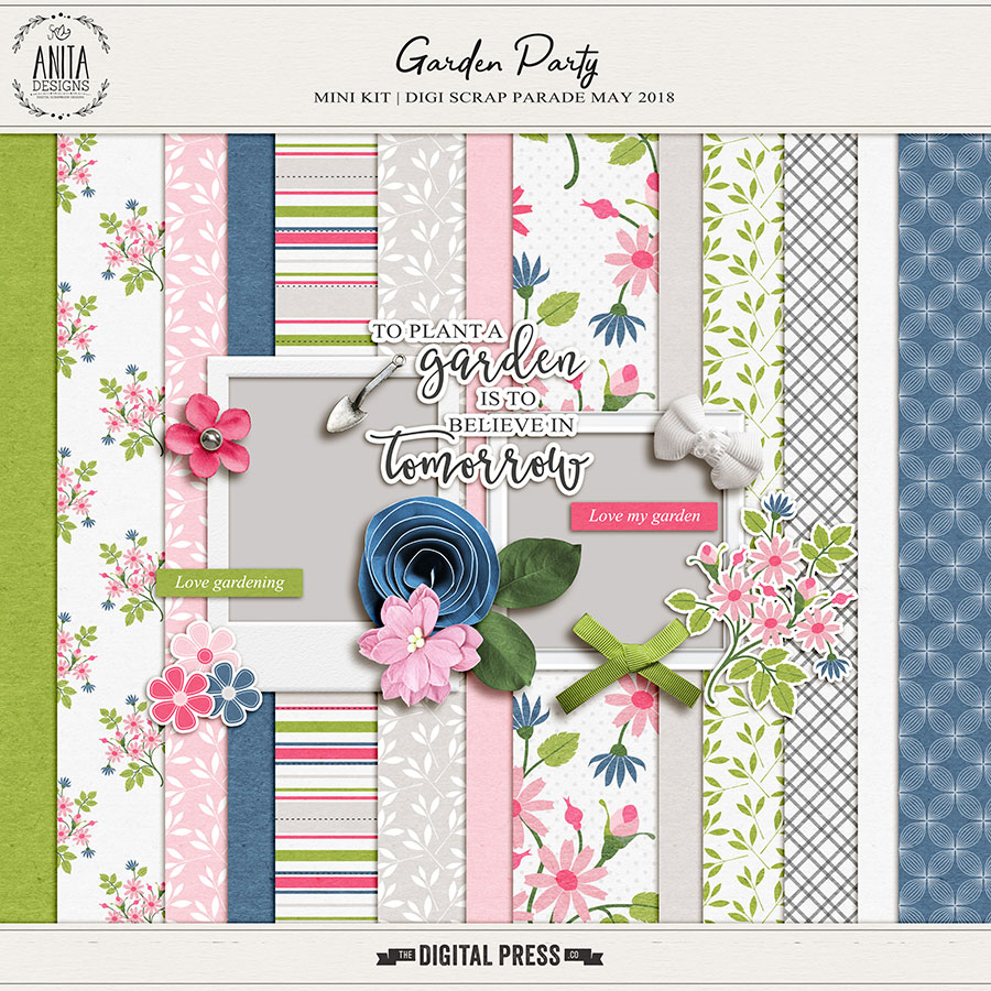 Digiscrap parade bloghop | May 2018