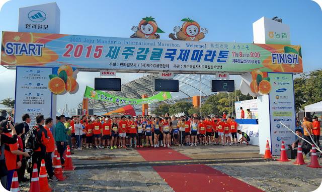Jeju Mandarin International Marathon 2015