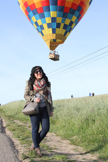 Hot Air Balloon Ride and Brunch Outfit | Will Bake for Shoes