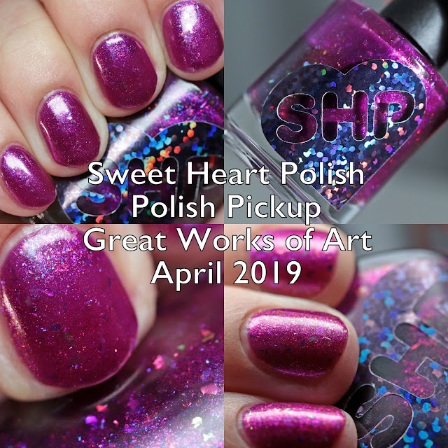 Sweet Heart Polish Polish Pickup Great Works of Art April 2019