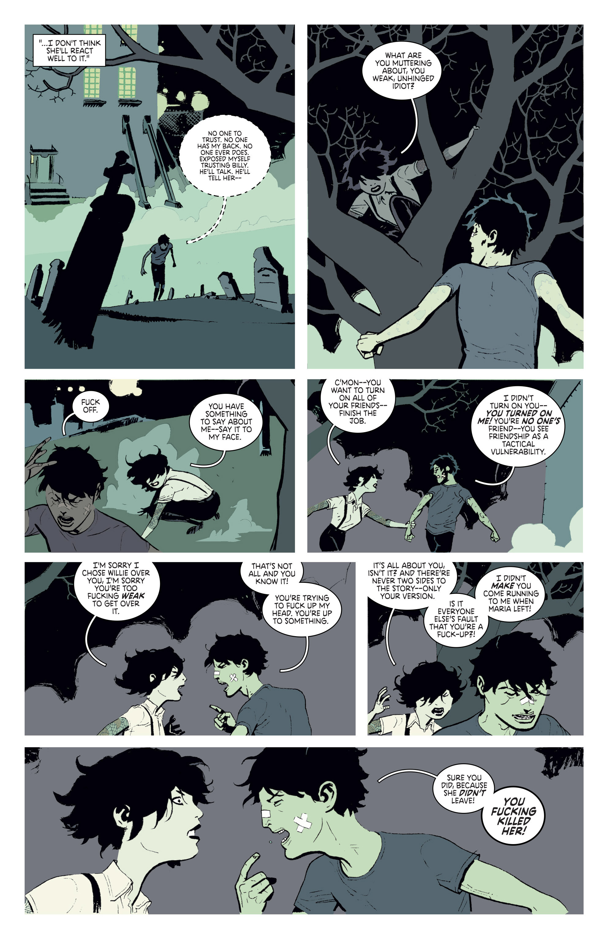 Read online Deadly Class comic -  Issue # _TPB 3 - 76