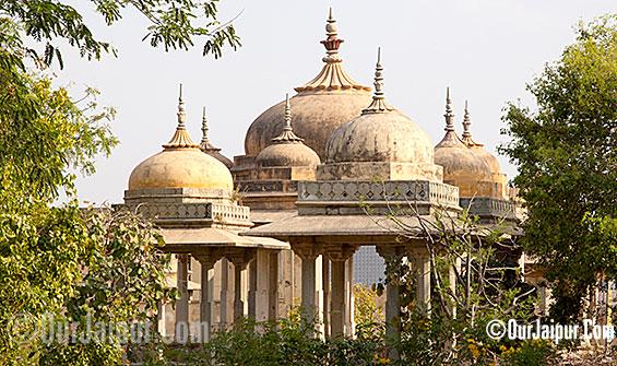 Bharmal ki Chhatris