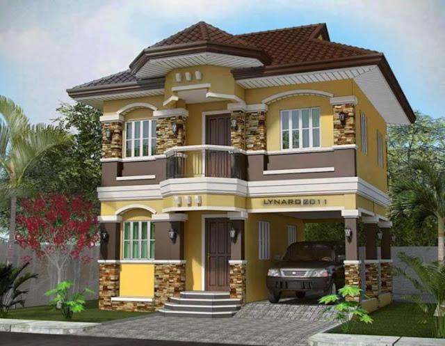 MyHousePlanShop: Seven 3D House Designs In Front Elevation