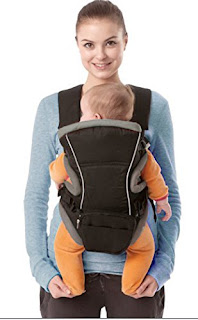 extra safety Allis 3-in-1 Baby Carrier Backpack Sling (Grey/Black) Deal Now £19.00