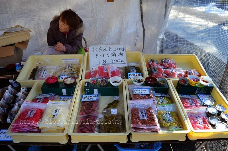 morning market in takayama