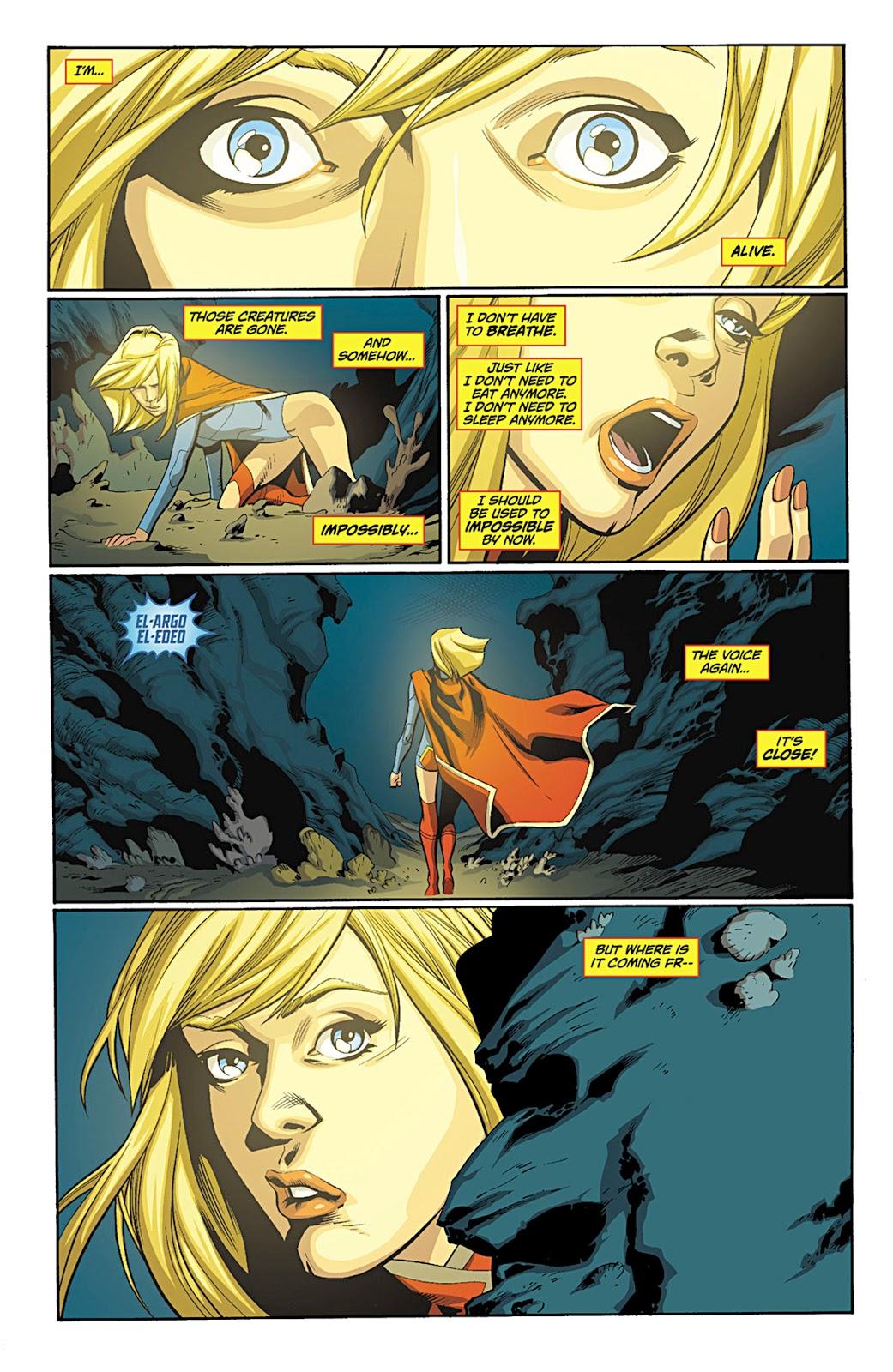 Extraordinary World of AnimeUnderwater: Supergirl (Comics)