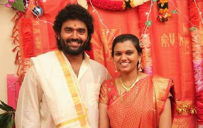 Singer-Pranavi-Gets-Engaged-To-Raghu Master