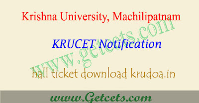 KRUCET 2019 hall ticket download,krucet hall tickets 2019,krucet hall ticket 2019