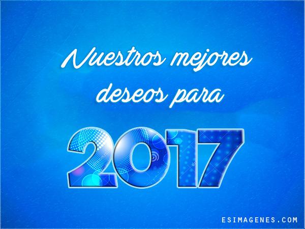 Im genes postales y tarjetas para a o nuevo 2017 - Felicitaciones ano 2017 ...