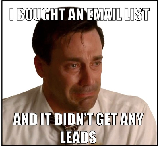 funny email marketing meme
