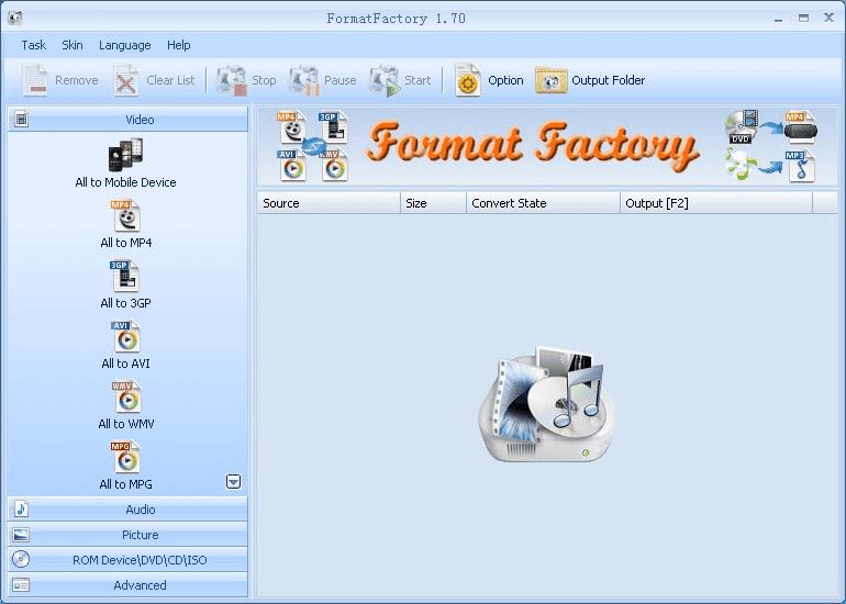 format factory gratuitement 01net